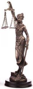 statua sprawiedliwości prawnej